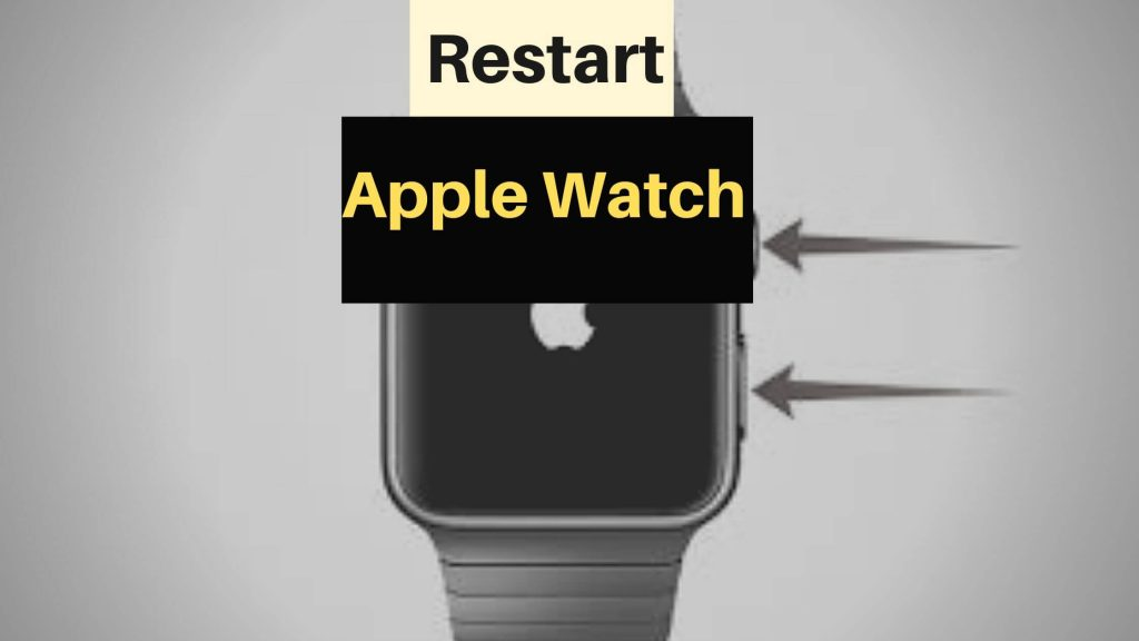 restart apple watch 4