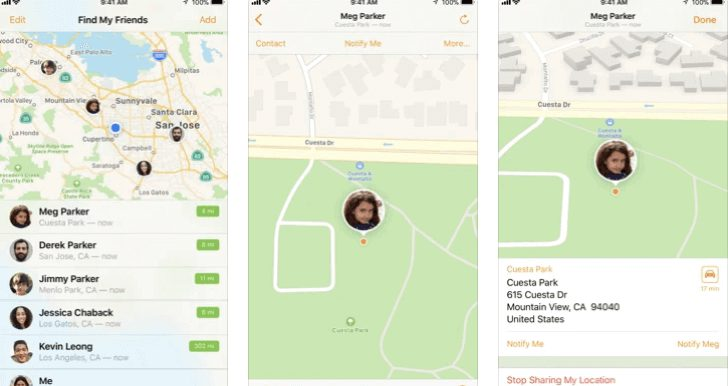 Find My Friends official best free iPhone tracking app