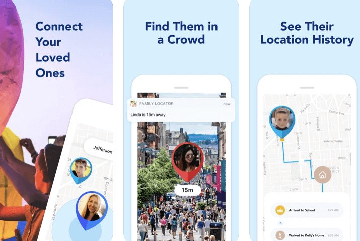 Find my Phone - Family Locator free iPhone tracking app