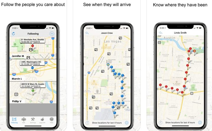 GPS TRACKER Locate & track iphones with GPS