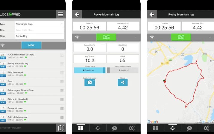 LocaToWeb best Real time GPS tracking for iphone and ipad