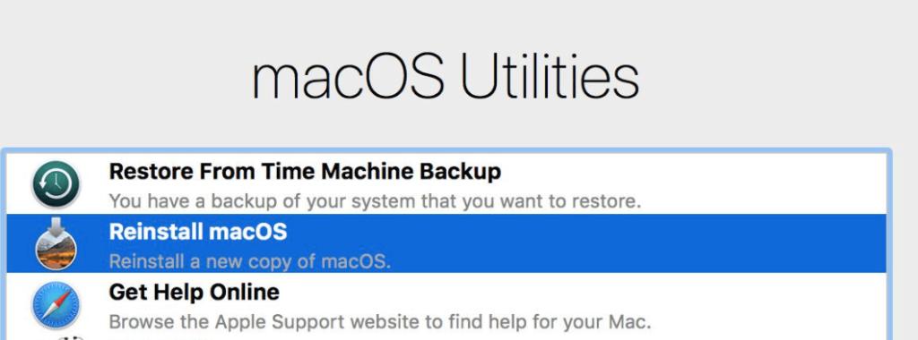 Get help Online macbook recovery mode