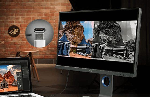 BenQ SW321C 32 best mac mini monitor