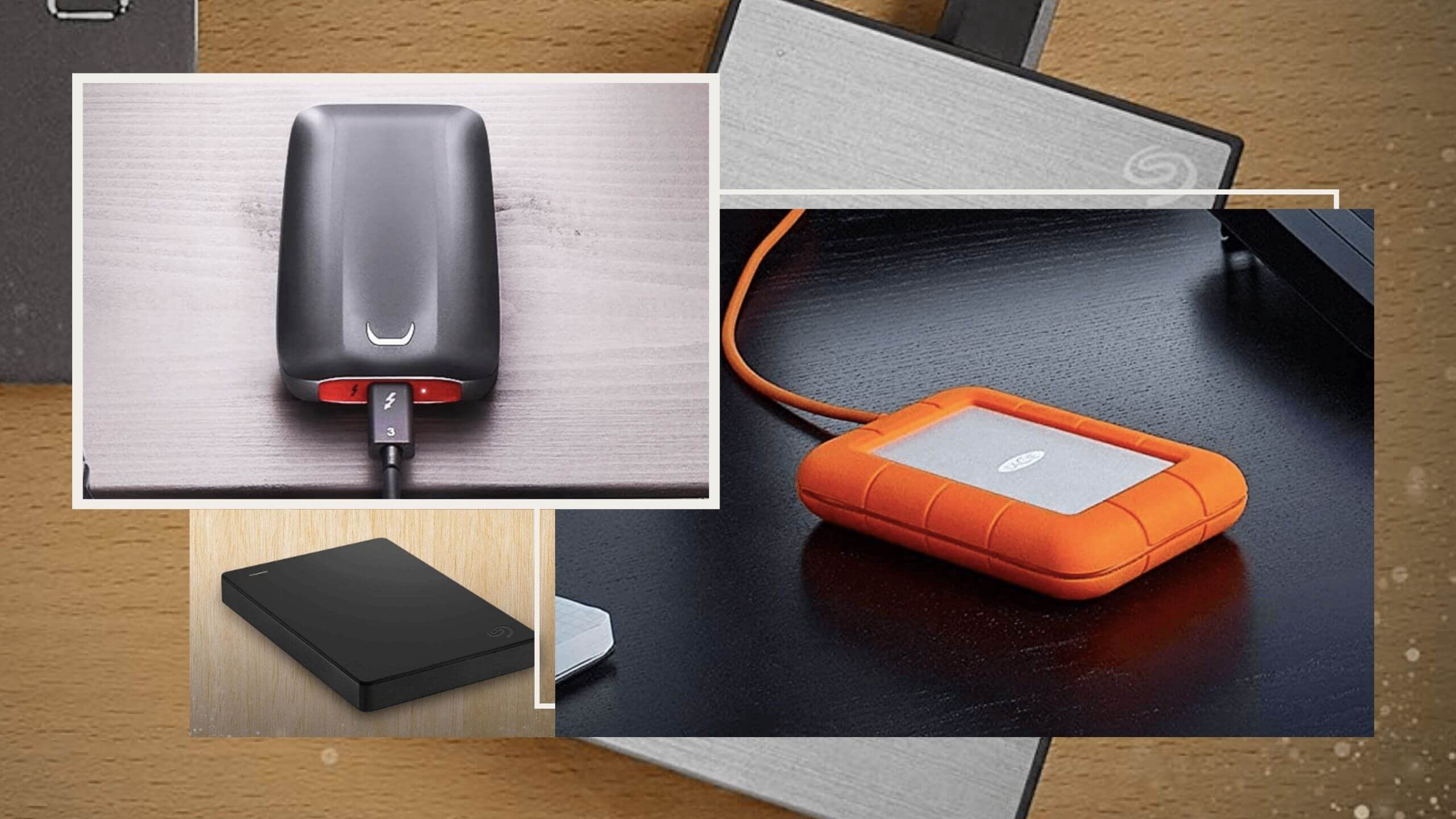 Best External Hard Drive for Mac, MacBook Pro and Air