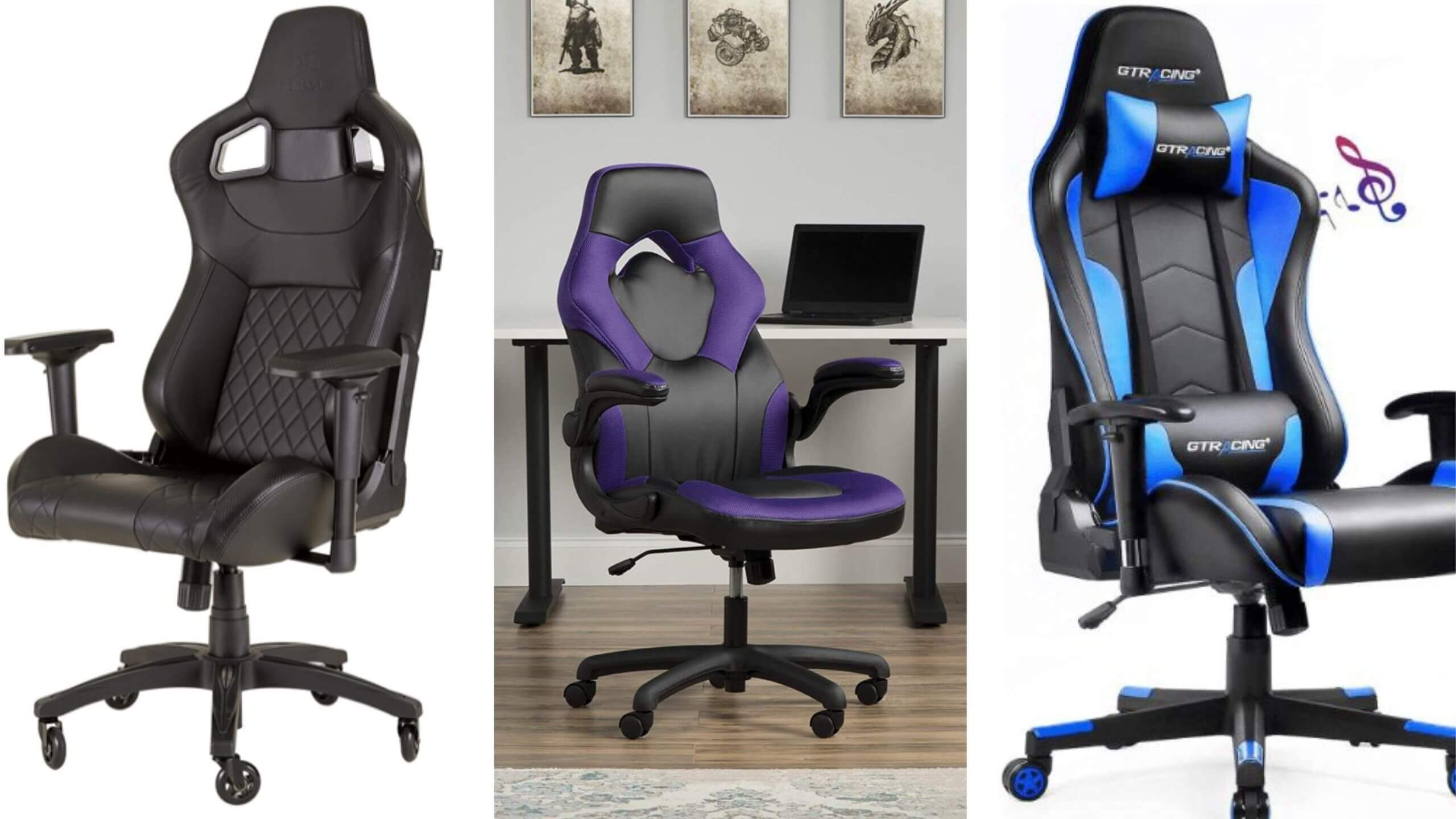 Best cheap Budget pc gaming chair under $100 $200 $300