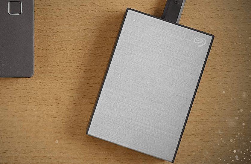 Seagate Backup Plus Slim best external drive Mac