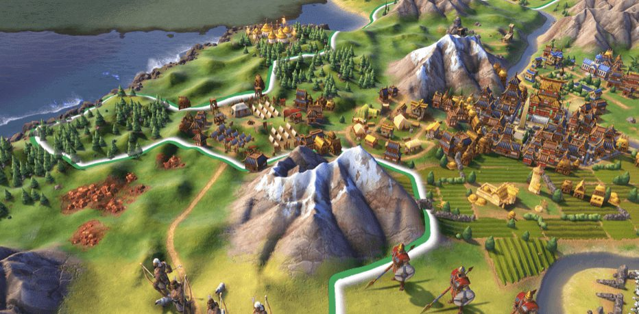 Sid Meier's Civilization VI Best Strategy game to play on mac