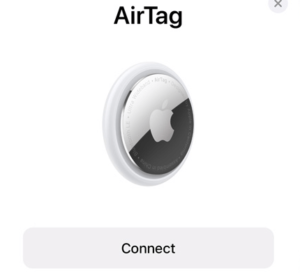 airtag one-tap setup instantly
