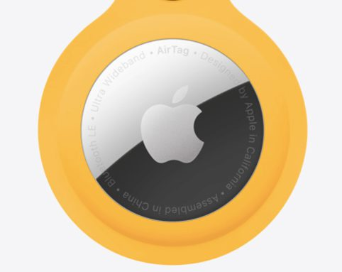 one-tap setup instantly connects your AirTag with your iPhone