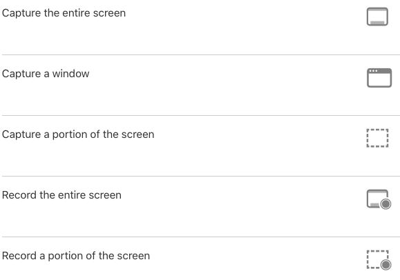 Now take screenshot on Mac
