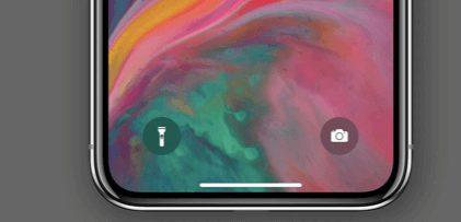 turn off flashlight torch on iphone lock screen