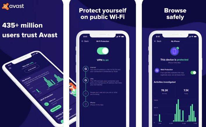 Avast security and privacy best free antivirus for iPhone