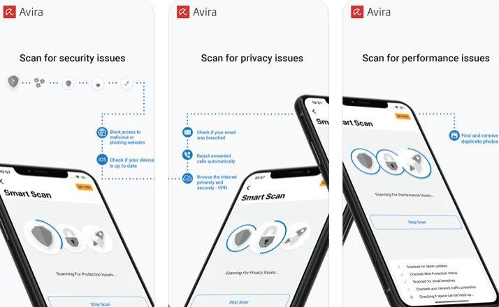 Avira Mobile Security best iOS antivirus