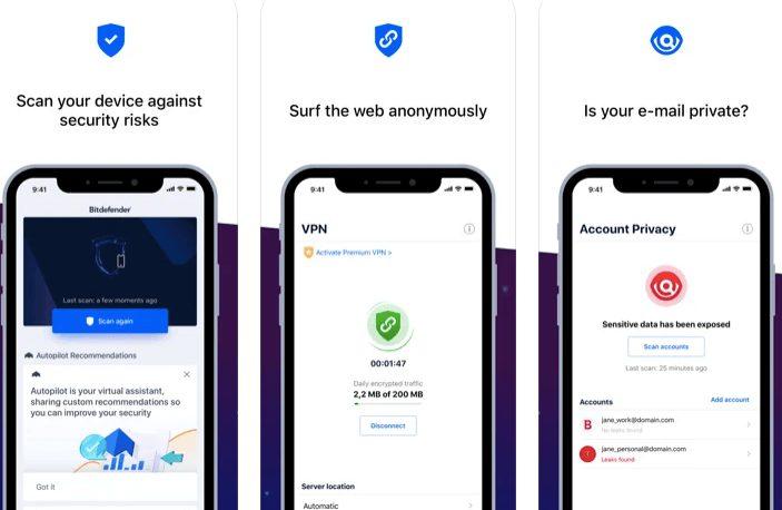 Bitdefender anti malware for iPhone