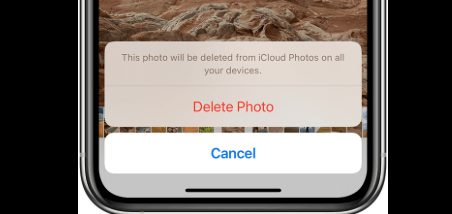 Delete photos on your iPhone and icloud