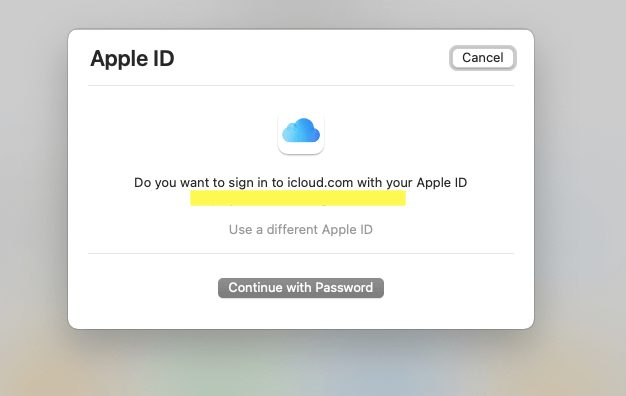 Go to icloud.com and log in to delete photos from icloud