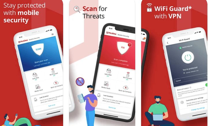 McAfee Mobile Security Best antivirus protection