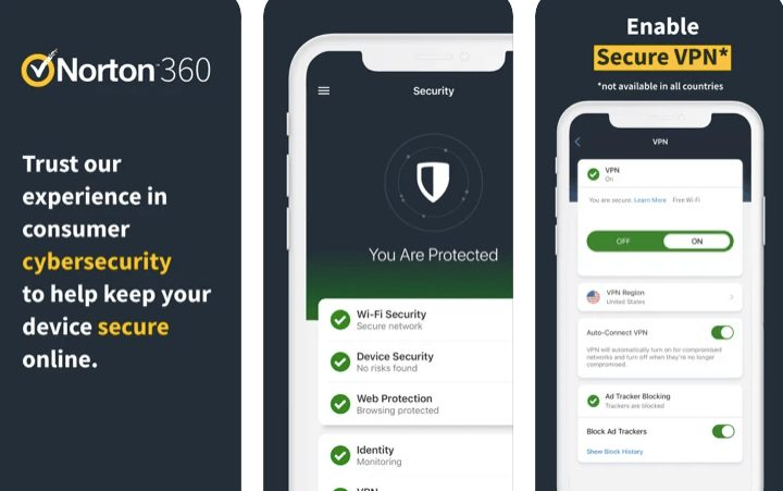 Norton 360 Mobile Security for iPhone