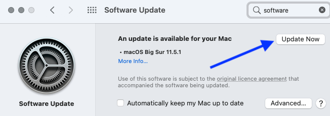 4 Click Update Now to Upgrade safari to newest version