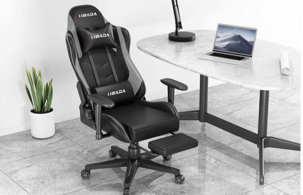 Hbada black ergonomic gaming chair under 200