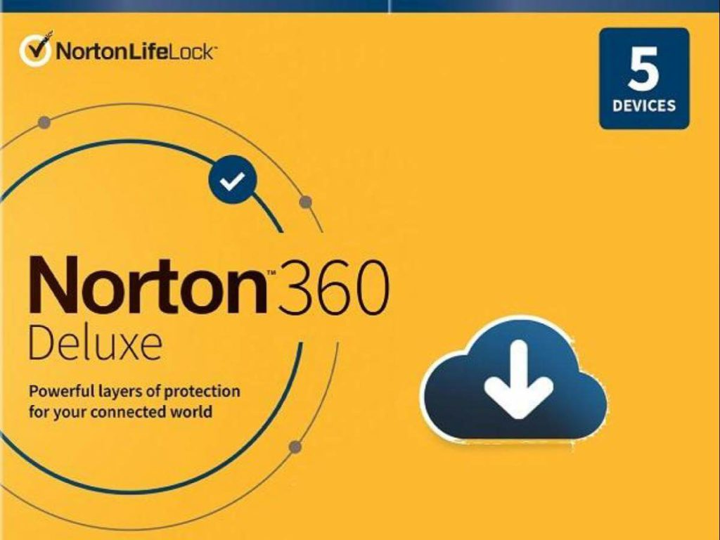Norton 360 Deluxe powerful antivirus and ransomware protection