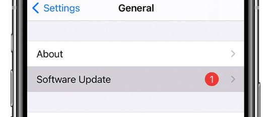Update iOS and fix iphone hotspot stopped working