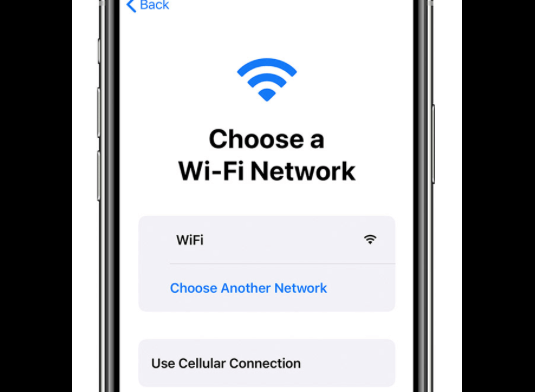 2 transfer apps to new iphone wifi screen start