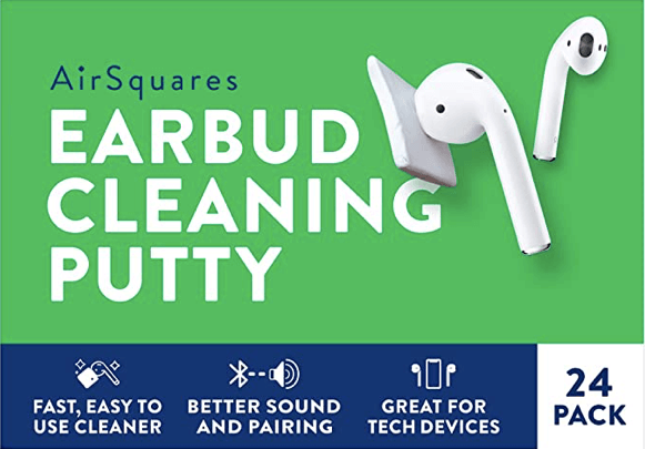 AirSquares - Cleaning Putty for AirPods, Phones & Electronic Devices