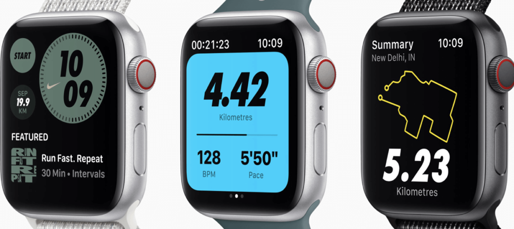 Nike running watch faces are now more customisable