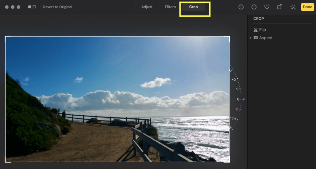 Crop Photo in Mac and Change the dimensions of Photo on Mac