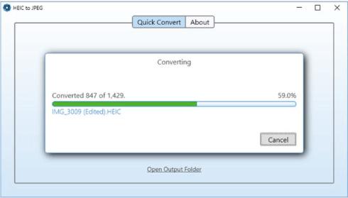 Drag-Drop or Copy-Paste files for instant conversion