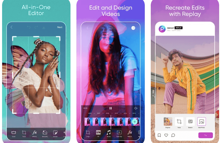 Picsart best Photo Editor for iPhone