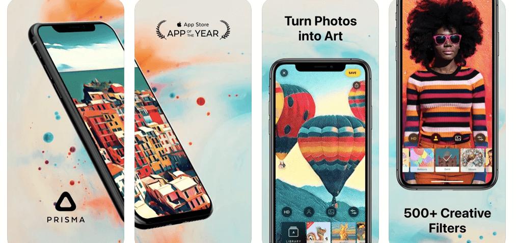 Prisma Photo Editor app for iPhone and ipad