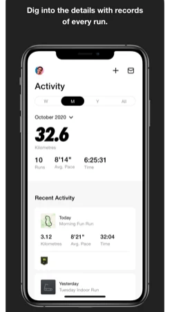 Reach goals, earn achievements and go the distance Wike Nike run with apple watch