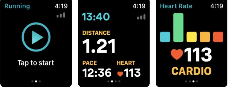 Runkeeper Running App for apple watch by asics