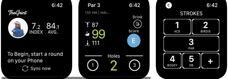 TheGrint Golf GPS and Score Tracker best golfing app for apple watch