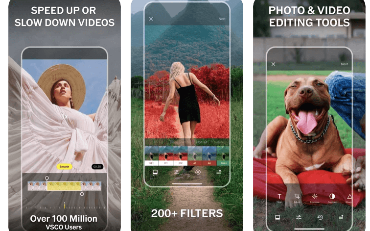 VSCO Photo Editor with filters for iphone