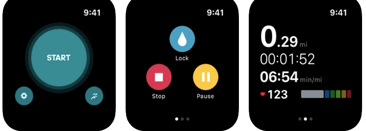 adidas best sports and distance Running App for Apple watch Runstatic