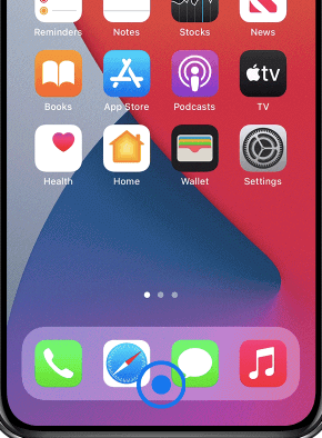 close app on iPhone X and later (iPhone 11, iPhone 12, iPhone 12 Pro )