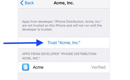 trust for this developer.