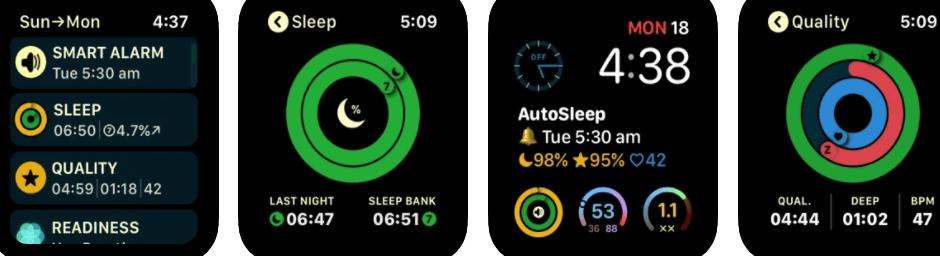 AutoSleep Track Sleep on Watch and Alarm