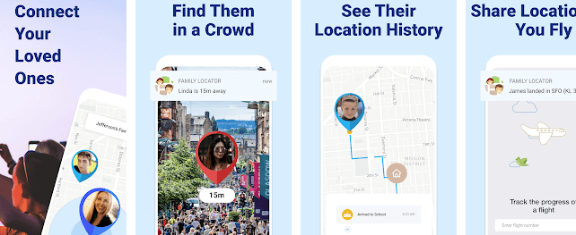 Family Locator GPS Tracker & Find Your Phone App for Parents on iPhone and Android