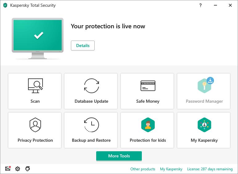 Kaspersky Internet Security for Chromebook