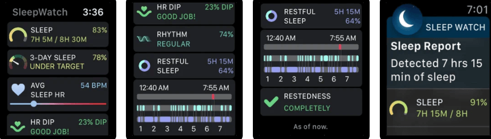 Sleep Watch by Bodymatter Auto Sleep Tracker