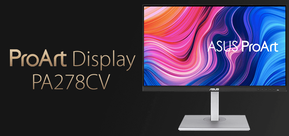 ASUS ProArt Display PA278CV Best Monitor For Mac Mini