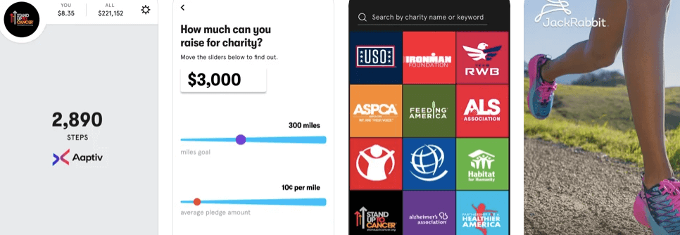 Charity MilesBest free Step tracker and Walking app for iPhone