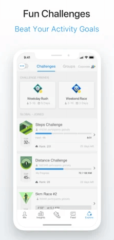 Link to Apple Health to track with your Apple Watch