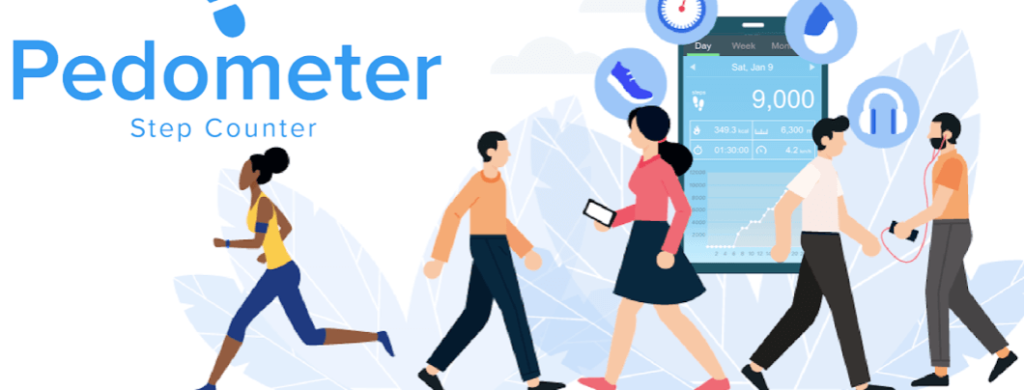 Pedometer by ITO Technologies offline Pacer for Health conscious People