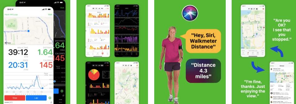 Walkmeter Walking Walk, Hike, Run & Ride Tracker